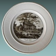 Wedgwood Rome and Vatican Souvenir Cabinet Plate