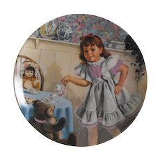 Collector Plate: Treasured Songs of Childhood: I'm a Little Teapot