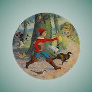 Limoges: Turgot: Collector Plate: Tom Thumb