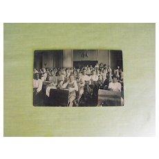 Postcard: Photo: School Classroom with Children