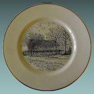 Cabinet Plate of Horsham Friends Meeting: Horsham, Penn.