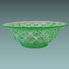 Imperial Glass Little Jewel or Diamond Block Bowl Circa: 1920s-30s
