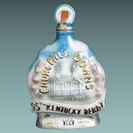 Beam Churchill Downs 95th Derby decanter circa 1969