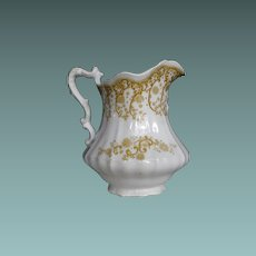 Ironstone Pitcher Waverley by Johnson Brothers