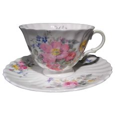 Royal Doulton Cup and Saucer Arcadia Pattern H.4802
