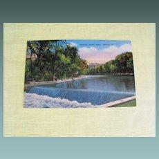 Postcard:Truckee River: Reno, Nevada