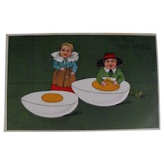 Postcard: Antique German Easter               Circa: 1903