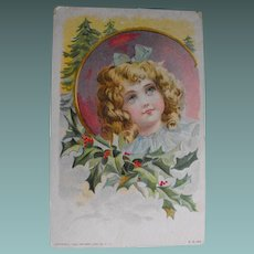 Postcard: Christmas                                               Circa: 1909