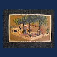 Trade Card or Postcard San Diego Exposition   Circa: 1935