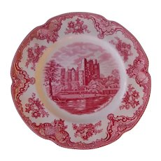 """Johnson Brothers 10"""" plate  Old  Britain Castles"""