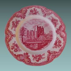 "Johnson Brothers 10"" plate  Old  Britain Castles"