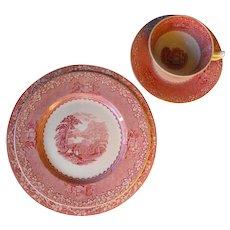 4 pc Jenny Lind  1795 by Royal Staffordshire Potter