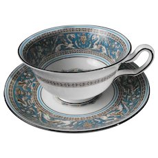 Wedgwood Florentine  Cup and Saucer