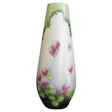 Hutschenreuter -Tirschenreuth  signed hand-painted vase