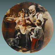 "Rockwell Collector Plate: ""The Toy Maker"""