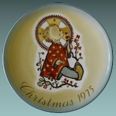 Schmid Collector Plate, Christmas, 1975