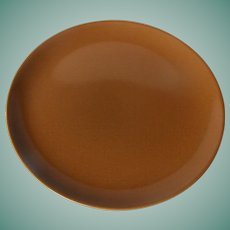 Casual Brown by Russel Wright Luncheon plate