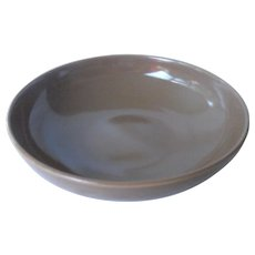 """Casual Brown 8"""" vegetable bowl by Russel Wright"""