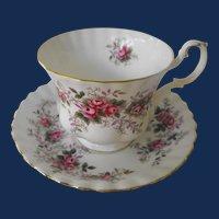 Royal Albert Lavender Rose cup and saucer