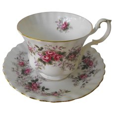 Royal Albert Lavender Rose cup and saucer