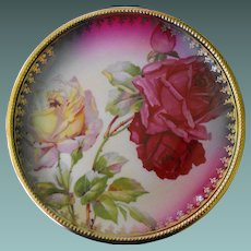 C S Prussia antique plate