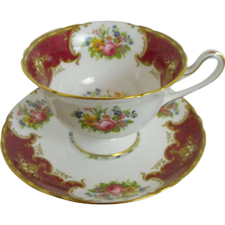 Shelley Duchess cup and saucer