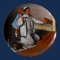 """""""The Painter"""" from Knowles Rockwell Heritage Collection"""