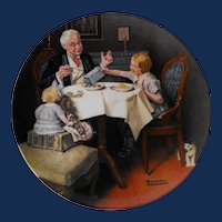 """""""The Gourmet"""" by Knowles for the Rockwell Heritage Collection"""