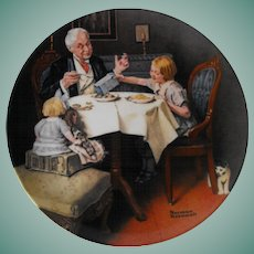 """The Gourmet"" by Knowles for the Rockwell Heritage Collection"