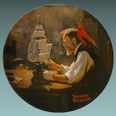 """""""The Ship Builder"""" from The Rockwell Heritage Collection by Knowles"""