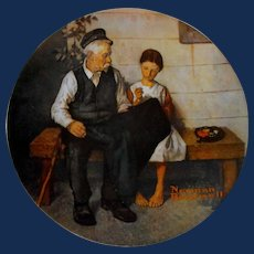 """""""The Lighthouse Keeper's Daughter"""" from The Rockwell Heritage Collection by Knowles"""