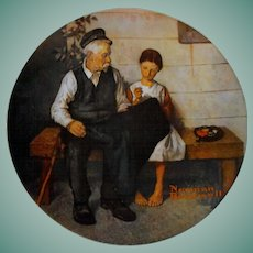 """The Lighthouse Keeper's Daughter"" from The Rockwell Heritage Collection by Knowles"
