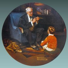 """""""The Tycoon"""" from Rockwell Heritage Collection by Knowles"""