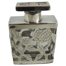 Sterling Case perfume bottle
