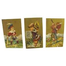 19th Century Trade Cards (3)