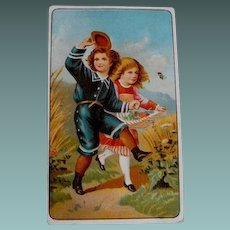 Trade Card: Ariosa Coffee; Circa 19th Century