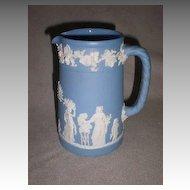 Beautiful Wedgwood Blue Jasperware Pitcher