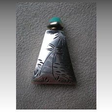 Fabulous Mexican Sterling Silver Perfume