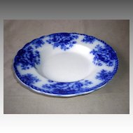 "Fabulous English ""Blenheim"" Flow Blue Bowl"