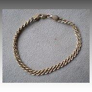 Fabulous 14k Gold Double Chain Bracelet