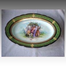 Stunning Antique Royal Vienna Porcelain Platter
