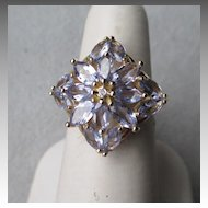 Gorgeous 14k Gold and Tanzanite Ring