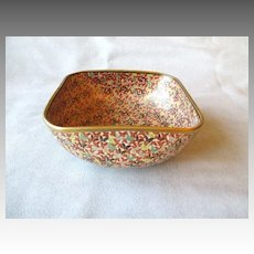 Gorgeous Japanese Satsuma Bowl with 1000 Butterflies