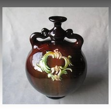 Vintage Peters & Reed Art Pottery Two Handle Vase