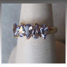 10k Gold and Tanzanite Ring