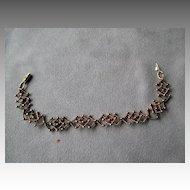 14k Gold Link Style Bracelet