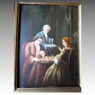 """Original Oil Painting by Dutch Artist """"Johannes van der Heijdden"""""""