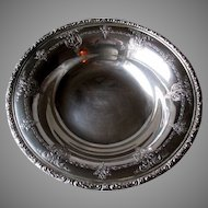 """Heavy """"Towle"""" Sterling Silver Serving Bowl"""