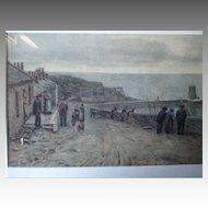 Original Watercolor - David A. Baxter (1876-1954)