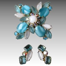 Fabulous Juliana Pin and matching Earrings